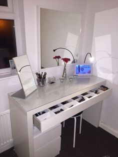Malm dressing table ikea