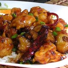 general tso's chicken - we made this the other night and my husband was quite impressed how good it came out! it was exactly like what you would get at a restaurant. absolutely delicious!!