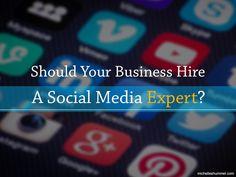 Should Your Business Hire a Social Media Expert? #SocialMediaEnthusiasts #SocialMedia #marketing #strategy