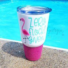 Zero Flocks Given Cup // Flamingo Cup // 30 oz Vacuum