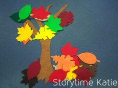 Flannel Friday: Leaves! | storytime katie
