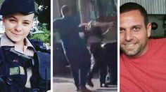 Vídeo mostra homem agredindo mulher com socos e pontapés