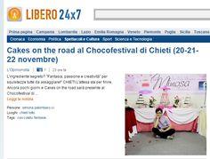 Cakes on the road a Chieti per il Chocofestival. Ne parla Libero