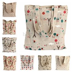 Linen Folding Women Pouch Storage Reusable Shoulder Shopping Bag Tote Handbag | Clothing, Shoes & Accessories, Women's Handbags & Bags, Handbags & Purses | eBay!