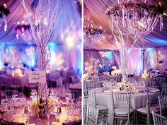 Purple Winter Weddings | Winter Wedding Inspiration | Purple Palette | Lake Tahoe Weddings with ...