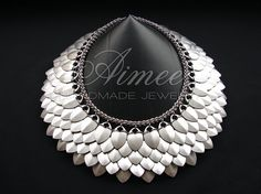 pure dream at http://aimees.blog.hr/ #chainmaille #jewelry-making #scalemaille #silver