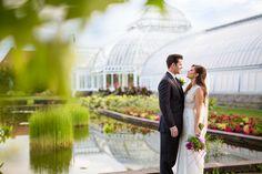 Phipps conservatory & botanical gardens, garden wedding photography, flower wedding photography, bright wedding photos, romantic wedding photos, must have wedding photos, pittsburgh wedding photographer
