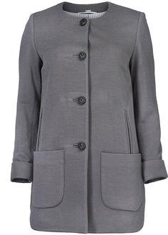 Jakke mørkegrå 22307 Jersey Jacket 210 charcoal