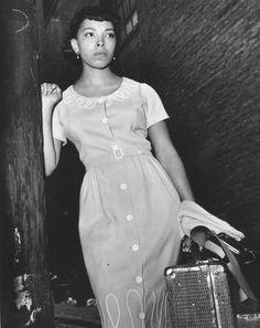 Olga James Vintage Black Glamour, Old Hollywood Glamour, Vintage Photos, Pop Culture, 1950s, Entertainment, Shirt Dress, People, Shirts