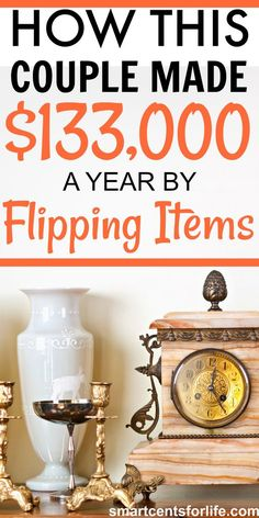 This couple started their business as a side hustle and now flipping items has become their full-time job. They earned $133,000 by flipping items! Definitely, a profitable business and a great way to earn extra income from home!