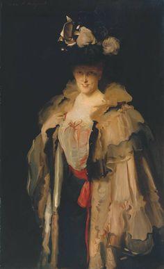 Mrs. Charles Hunter, John Singer Sargent, 1898; TC N04469