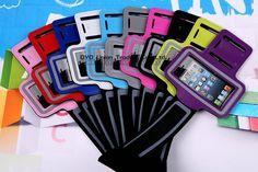 Чехол водонепроницаемый, гимнастика бег спорт сумка чехол для iPhone 5 5S 5C рука лента прочный телефон мешок чехол 10 цветов купить на AliExpress