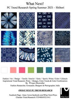 #Shibori #shiboridyeing #SS2021 #Japanesedyetechnique #WhatNextPCTrendResearch #Indigo #PriyaChanderDesigns #FashionForecastByPriyaChander #ColorTrendsByPriyaChander #Indigodyeing #fashionconsultant #fashiondesigner #springsummer2021 #fashionforecaster #fabricprints #interiordecor #fashionforecastspringsummer2021 #interiors #homedecor #InteriordesignTrends #knitwear #hautecouture #fashionweekSS2021 #colortrendsSS2021 #fashionforecast #fashion #art #design #fashionresearch #fashionforecasting Spring Summer Trends, Spring Fashion Trends, Color Trends, Design Trends, Colors And Emotions, Fashion Forecasting, Deep Winter, Fashion Prints, Fashion Art