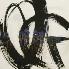 """Saatchi Art Artist Jieun Park; Painting, """"A little talk-HK (exhibition)"""" #art"""