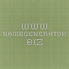 www.namegenerator.biz