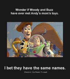 Woody and Buzz Toy Story meme