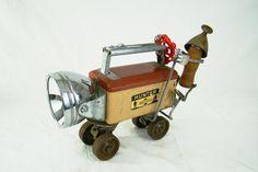 Big Rig - Found Object Robot Sculpture - Bills Retro Robots