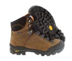 S-KARP Ascent - Brown/Orange, Maro/Portocaliu - Clasical Outdoor Boot, waterproof, Vibram Trekking, Hiking Boots, Orange, Brown, Casual, Outdoor, Shoes, Interior, Fashion