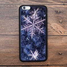 Microcosm, ice crystal Case For IPhone