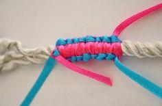 Finir votre bracelet scoubidou plat 3