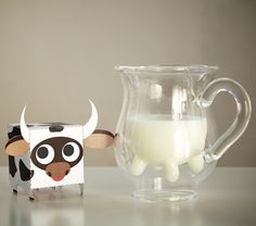 milk cow packaging  Calf & Half Creamer