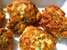 Boulettes de poulet et courgettes - à tenter absolument miam miam !