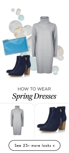 """Spring- lunch date"" by kettlewellcolours on Polyvore featuring Valentino, Jaeger and Dune Black"