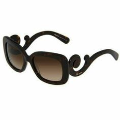 cb10887994a7 Prada Women s  PR 27OS 2AU6S1  Tortoise Baroque Su Protect your peepers  from UV damage. Poshmark