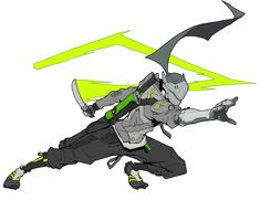 View an image titled 'Genji Artwork' in our Overwatch 2 art gallery featuring official character designs, concept art, and promo pictures. Fantasy Character Design, Character Design Inspiration, Character Concept, Character Art, Gengi Overwatch, Overwatch Drawings, Armor Concept, Concept Art, Genji Shimada
