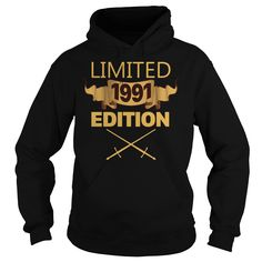 Limited 1991 Edition T Shirt Funny Birthday Gifts 26 Years Old #gift #ideas #Popular #Everything #Videos #Shop #Animals #pets #Architecture #Art #Cars #motorcycles #Celebrities #DIY #crafts #Design #Education #Entertainment #Food #drink #Gardening #Geek #Hair #beauty #Health #fitness #History #Holidays #events #Home decor #Humor #Illustrations #posters #Kids #parenting #Men #Outdoors #Photography #Products #Quotes #Science #nature #Sports #Tattoos #Technology #Travel #Weddings #Women