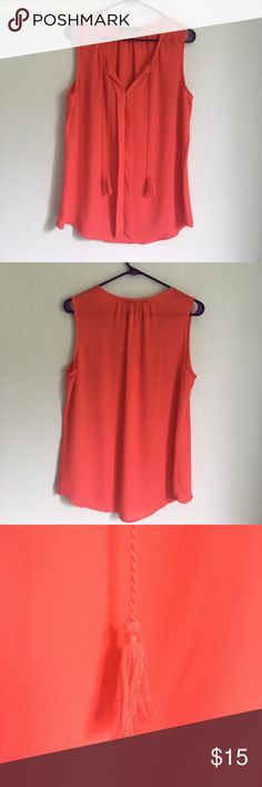 •Rose & Olive• Sleeveless Top Rose & Olive. Sleeveless Top. Beautiful Pink Color. Size Large. Excellent Condition. Bundle to save $$$$. Smoke free home. Rose & Olive Tops