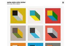 Swiss Style Color Picker
