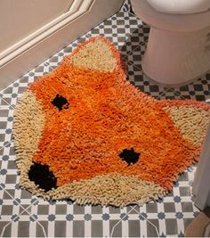Achetez le tapis de bain renard sur lavantgardiste pour le plus grand plaisir de vos petons.
