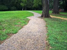 Keep your gravel where you want it! Outdoor Ideas, Outdoor Decor, Path Ideas, Stepping Stones, Paths, Sidewalk, Backyard, Garden, Stair Risers