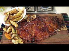 Pechito con manta a la miel y mostaza con vegetales asados - Recetas – Cocineros Argentinos