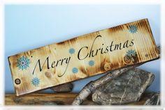Holzdruck - Merry Christmas / Foto auf Holz - ein Designerstück von DaiSign bei DaWanda