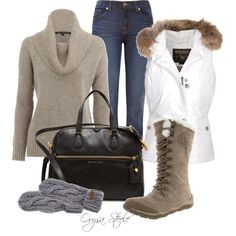 I love fall/winter clothes!