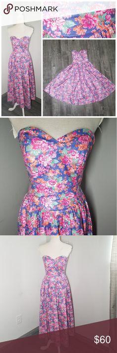 0e9551dfe8 Laura Ashley Vintage Floral Midi Dress Princess Laura Ashley Vintage 80s  Floral Midi Dress Princess Waist
