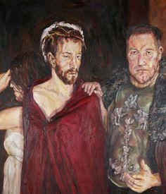 Rob Floyd Fine Art - Stations of the Cross, Ecce Homo (First Station)110cm x…