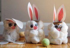 21 Toddler Approved Easter Crafts