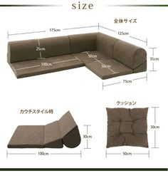 Floor corner sofa Nagomi - Google Search