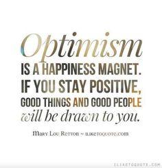 #optimism #happiness #staypositive