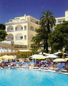 The Grand Hotel Quisisana is the largest and one of the best known hotels on the island of Capri. It is located in the heart of the old town of Capri, opposite the Hotel Residenza Capri and the Villa Sanfelice, to the south of the Piazza Umberto I. British doctor George Sidney Clark established a sanatorium in 1845, turning it into the Grand Hotel Quisisana in 1861.