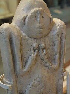Female figurine Çatalhöyük Amuq Valley Turkey Iron Age II-III (900-550 BCE) Limestone | Flickr - Photo Sharing!