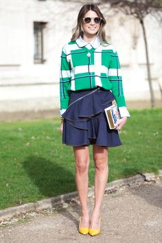 Street Style: Paris Fashion Week  - ELLE.com