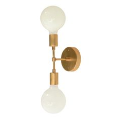 Cedar and Moss $149 Comes in black finish and nickel.Bold sconce or ceiling mount. Max Wattage: (2) 75 Light bulbs sold seperately