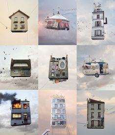 laurent-chehere-flying-houses