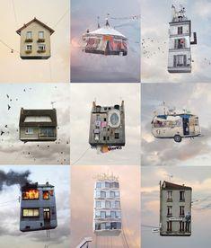 http://blogs.lexpress.fr/styles/froggista/2012/10/27/les-maisons-volantes-de-laurent-chehere/
