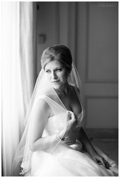Bridal Portrait - Melissa in Anne Barge 'Emmanuelle' wedding gown.