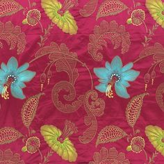 ariana - raspberry fabric | Desigenrs Guild